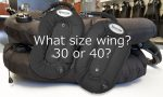 What size single tank wing
