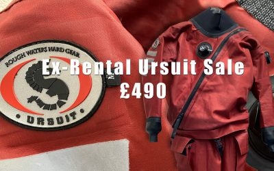 Ex-Hire Drysuit Sale