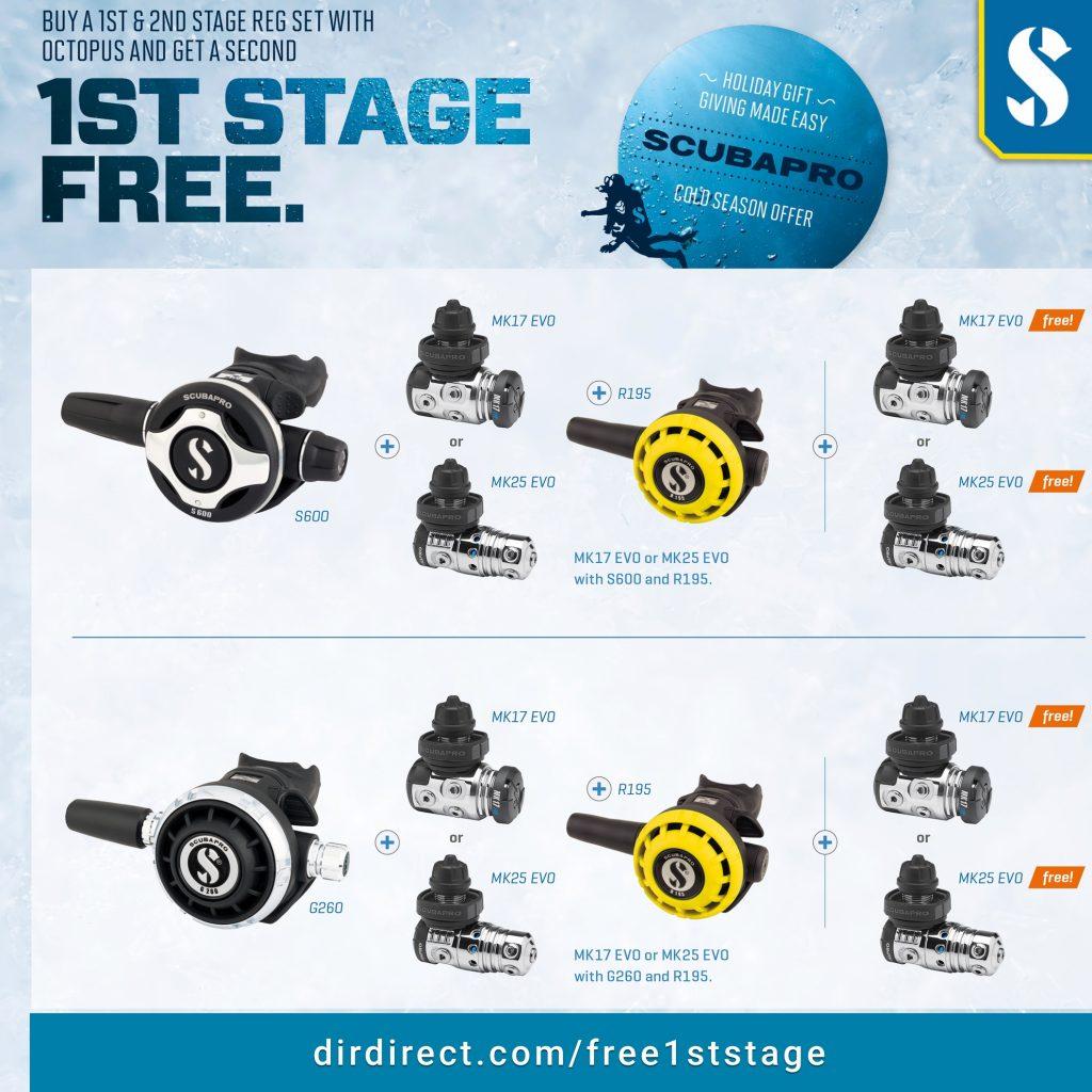Scubapro Free 1st Stage 2020