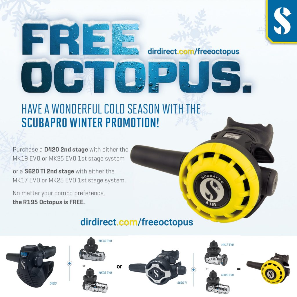 Scubapro Free Octopus 2020